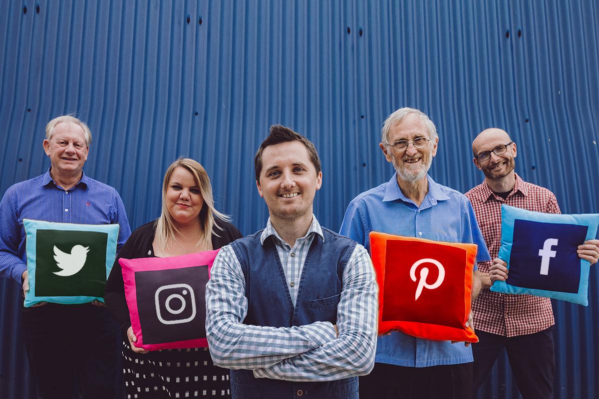 social icons shot